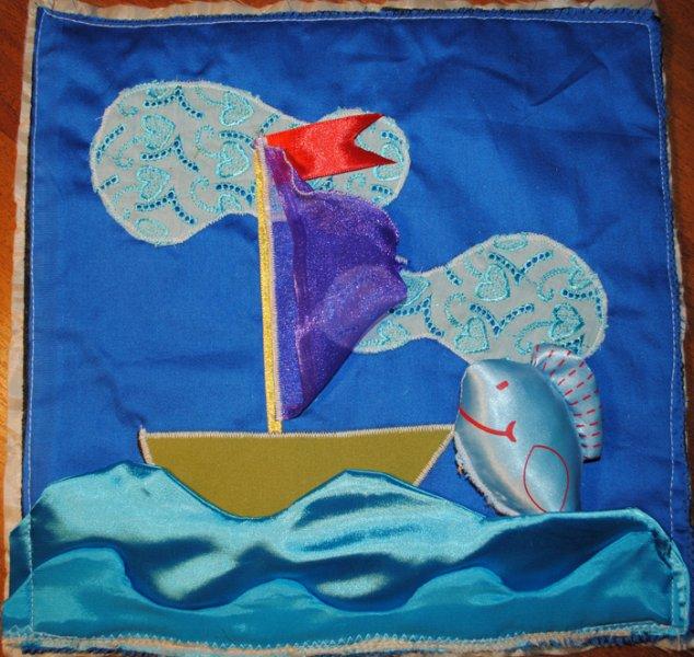 Море и кораблик